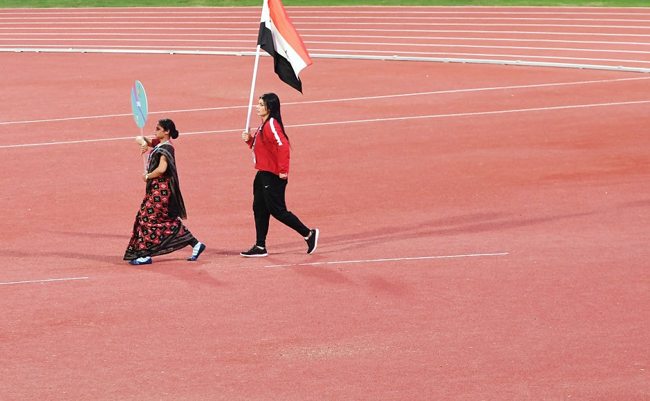 Discus thrower Hiba Omar is the sole representative for Syria at the 22nd Asian Athletics Championships. AFP