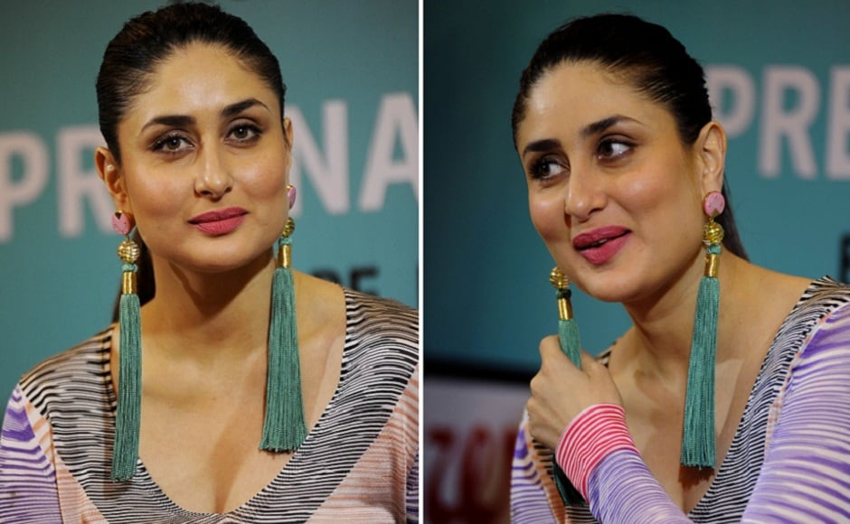 Diwekar recently launched her new book titled Pregnancy Notes. Kareena Kapoor, who recently became a mother herself, was the one to unveil the book. (AFP Photo)
