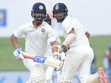 India vs Sri Lanka 1st Test, Day 2: Cheteshwar Pujara falls for 153 as visitors reach 503-7 at lunch