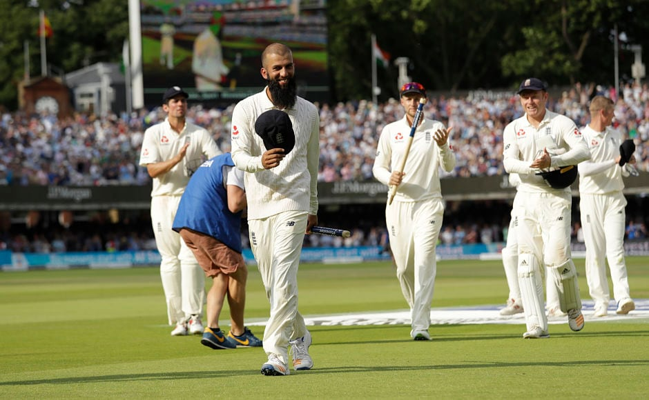 Moeen Ali ended up with figures of 6 for 53 as he made sure that Joe Root started his captaincy with a memorable win. AP