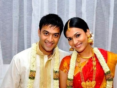 Soundarya Rajinikanth And Ashwin On Their Wedding Image Via Facebook