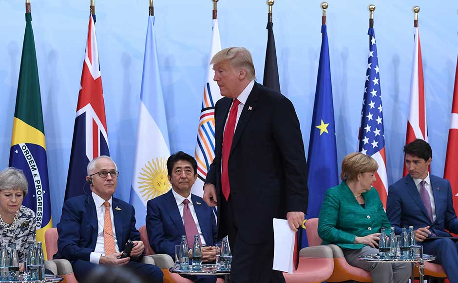 World leaders made concessions on trade and climate change to Donald Trump at the end of the most fractious and riot-hit G20 summit ever, in exchange for preserving a fragile unity of the club of major industrialised and emerging economies. Reuters