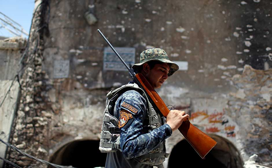 More than eight months since the country's forces launched a gruelling operation to retake Mosul, Islamic State has gone from fully controlling the city to holding a few neighbourhoods on its western side. Reuters