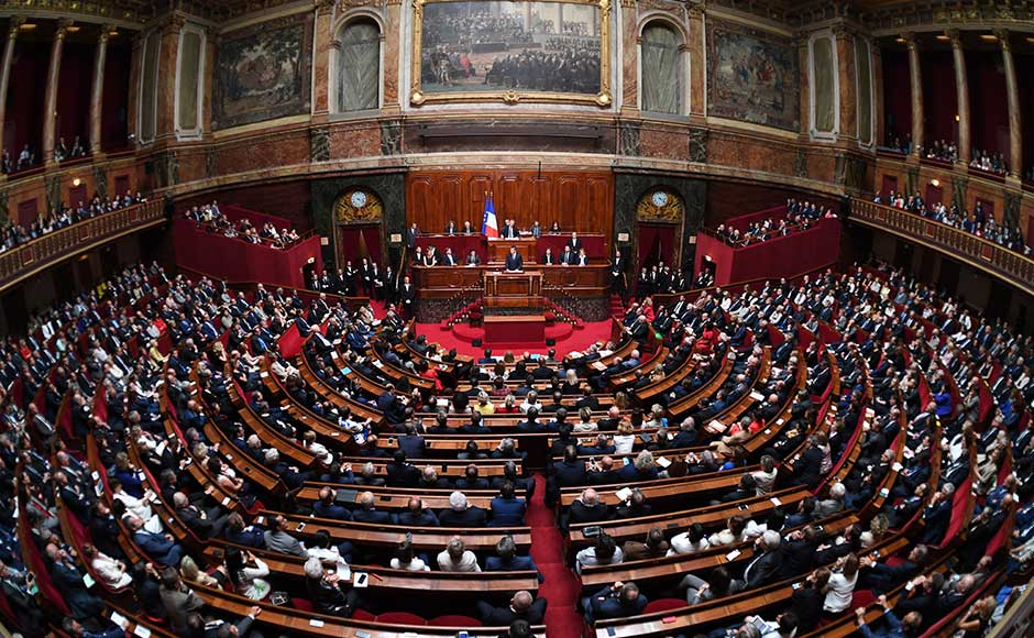 Laying out his political, security and diplomatic priorities, Macron vowed to lift a state of emergency that has been in place since 2015 but also to harden permanent security measures to fight Islamic extremism and other threats. AP