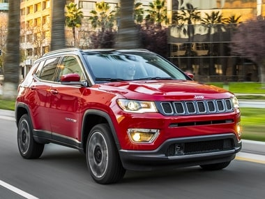 2017 Jeep Compass Launched In India Available In Four Variants