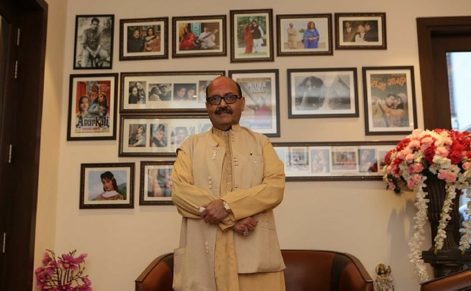Amar Singh during the private screening of the movie 'Mom' at politician Amar Singh's Chattarpur home in New Delhi, India. Mom is an Indian thriller film directed by Ravi Udyawar and produced by Boney Kapoor, Sunil Manchanda, Mukesh Talreja, Naresh Agarwal and Gautam Jain. (Getty Images)
