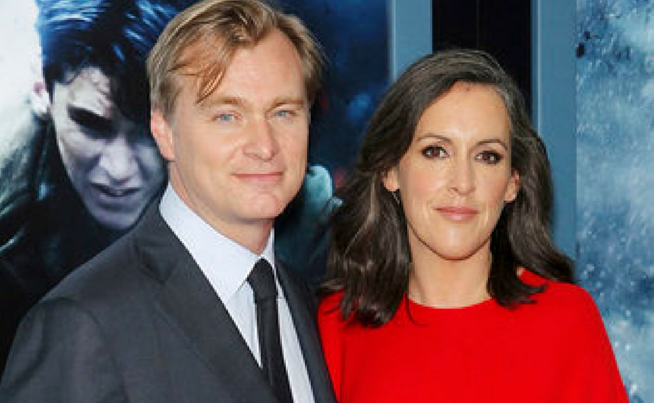 (L-R) Director Christopher Nolan and producer Emma Thomas at the premiere of Dunkirk. This is Nolan's first film after Interstellar in 2014. (AP Photo)