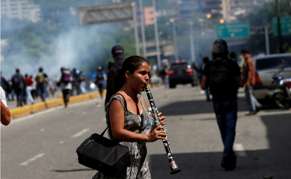 At least 100 have been killed in more than three months of political upheaval jolting the South American nation. Venezuela is plagued by triple-digit inflation, food and medical shortages and a homicide rate among the highest in the world. Reuters