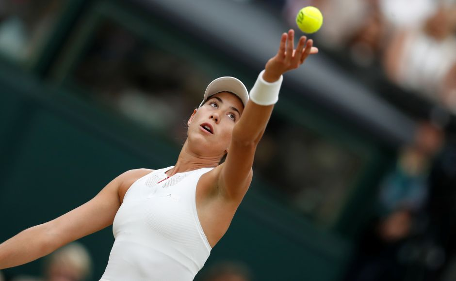 But Muguruza showed an almost iron will not to give an inch and soon met fire with fire. Reuters