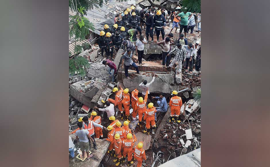 Two of those rescued were firefighters Ganesh Khandge and his associate, who were trapped in the debris and suffered suffocation due to a gas leak while trying to rescue a woman. PTI