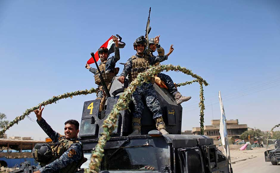 Iraqi forces have been closing in on the Old City for months, but its narrow streets and closely spaced buildings combined with a large civilian population made for an extremely difficult fight. Security forces recaptured a series of nearby districts, cornering the jihadists, before launching an assault in the Old City on 18 June. Reuters
