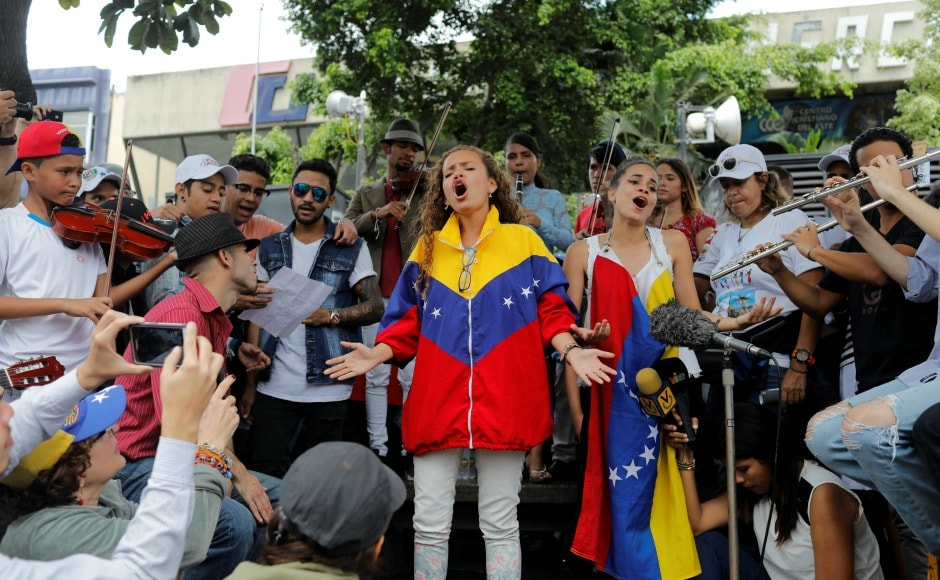 "With the situation already inflamed, the stakes have risen, after the US threatened economic sanctions if Maduro proceeds with the 30 July election to rewrite the constitution. The president has vowed to maintain the election of 545 members to the ""Constitutional Assembly."" Reuters"