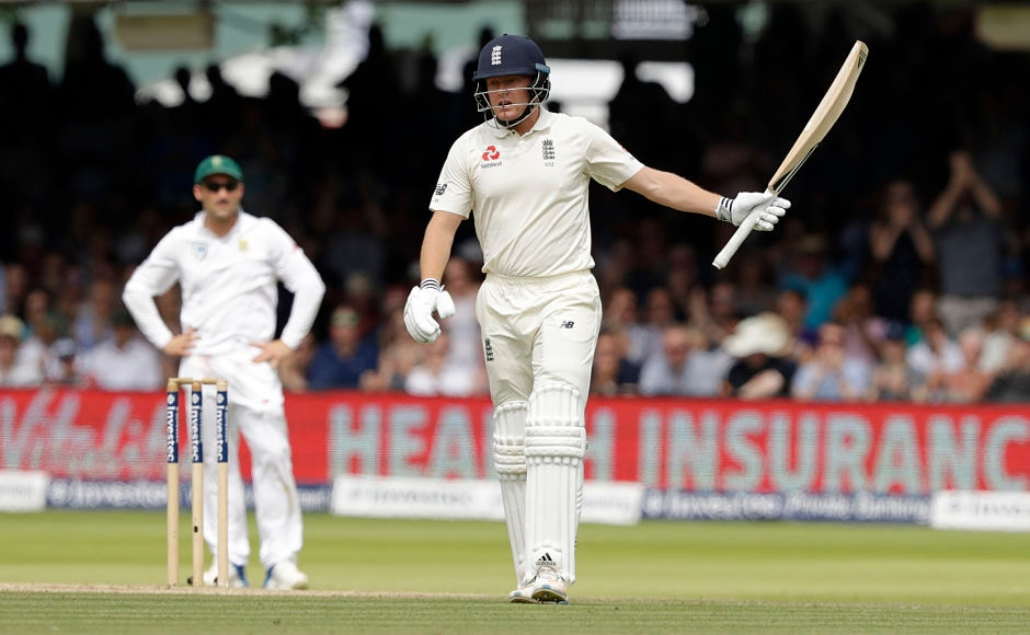 Wicketkeeper Jonny Bairstow was the saving grace for England as his fifty helped hosts set up a chase of 331 for the visitors. AP