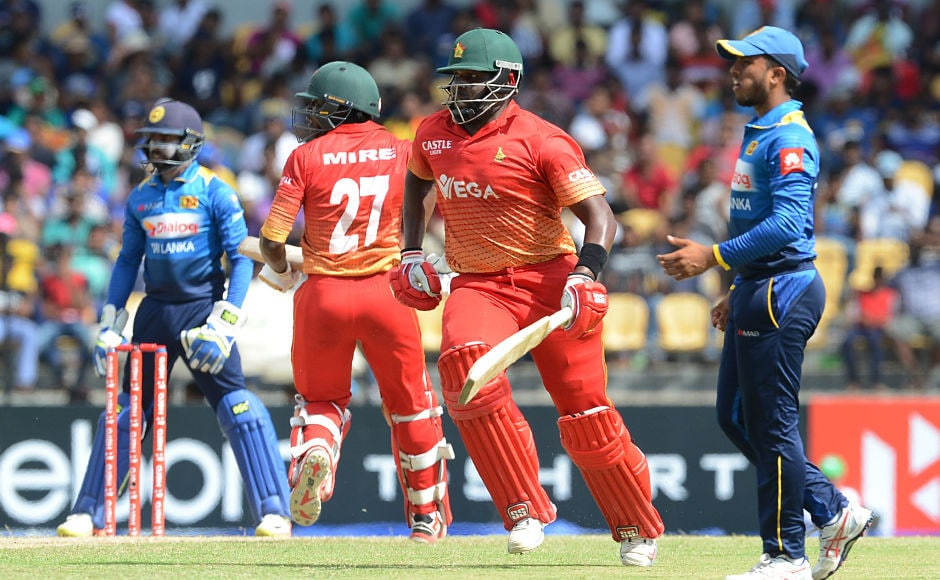 Hamilton Masakadza and Solomon Mire ensured Zimbabwe had a solid start in the 204 chase as they put together a partnership of 92 runs for the first wicket. AFP