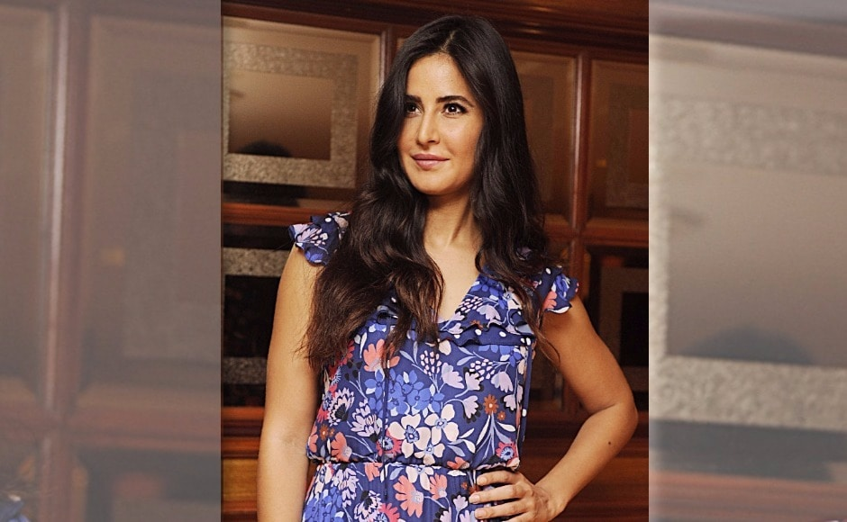 Katrina Kaif is spotted on the publicity trail for her upcoming detective caper Jagga Jasoos. The film is directed by Anurag Basu. Photo: AFP