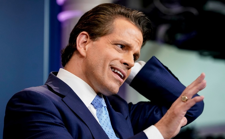 Scaramucci is expected to play a visible role as one of Trump's defenders on television. His job description laid out the fact that his role is to make the already vocal Trump, more 'expressive.' AP