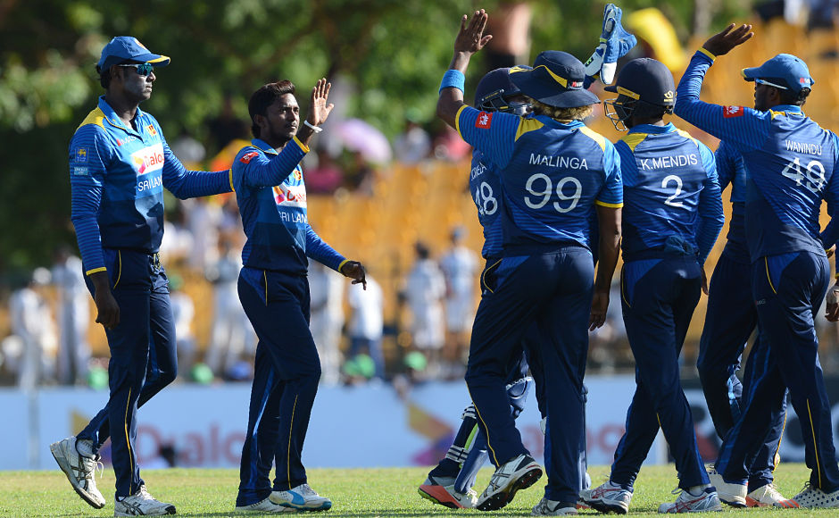 At 148 for 2, it looked like Zimbabwe would cruise to a victory but Akila Dananjaya had other plans as he scalped three wickets in quick succession to derail the chase. AFP