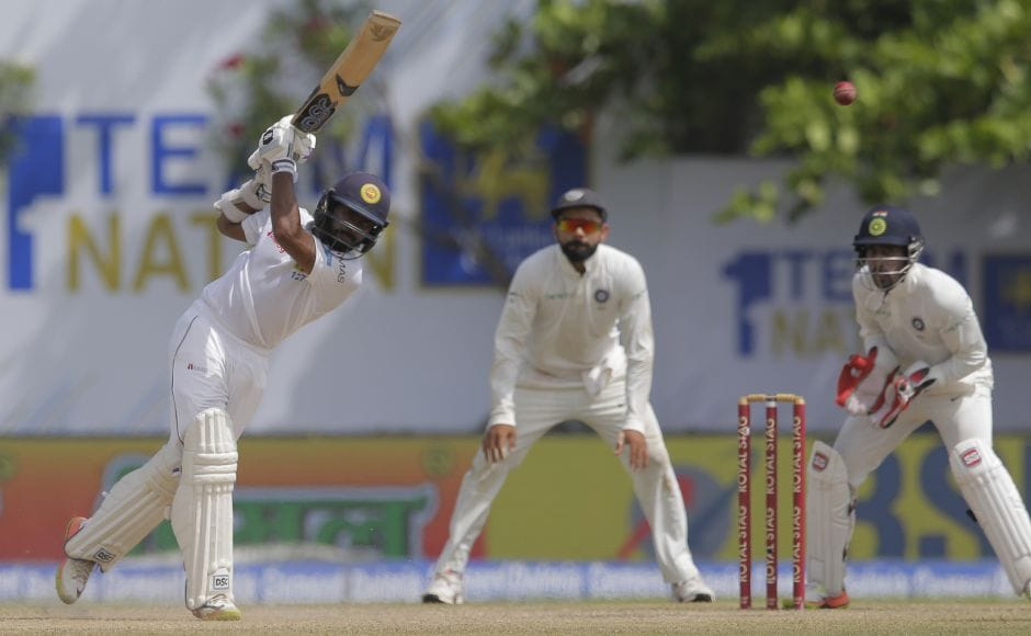Niroshan Dickwella provided some resistance before falling for 67. AP