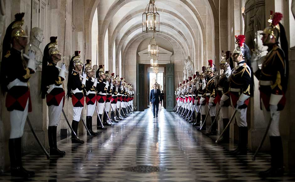 His decision to convene a sitting of both houses of the French Parliament — a rare event usually reserved for times of crisis — was criticised by the opposition, who saw his use of the Palace of Versailles as a further proof of a