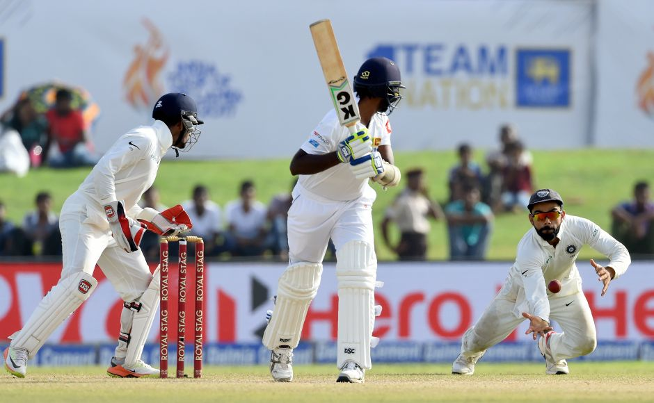 Ashwin and Jadeja dismissed Nuwan Pradeep and Lahiru Kumara to pick up the final Sri Lankan wickets after skipper Rangana Herath and Asela Gunaratne were ruled out due to injuries. AFP