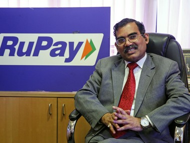 A P Hota, CEO of National Payments Corp of India (NPCI). Reuters