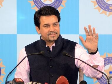 File photo of former BCCI president Anurag Thakur. Getty Images