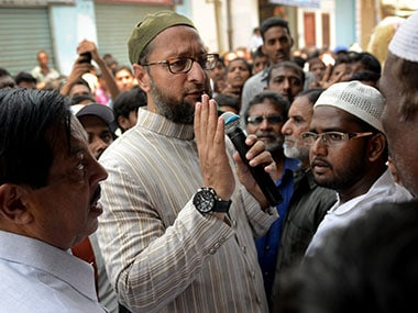 File image of Asaduddin Owaisi. AFP