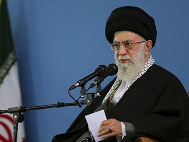 File image of Iran's supreme leader Ayatollah Khamenei. AP