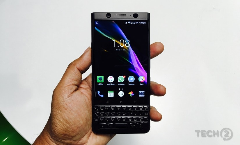 The BlackBerry Keyone looks different compared to every other smartphone out there