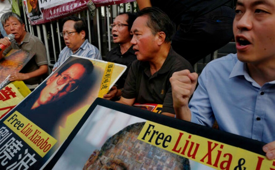 But human rights activists decried the hospital statement as a delay tactic to prevent Liu from getting his wish of going abroad, where they say he would be free to speak out. AP