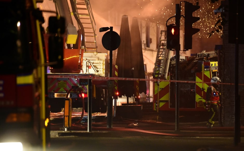 The market had an incident of fire in 2008 when market storage areas and shops in the locality were set ablaze and adjoining houses were damaged. A major part of the market had then remained closed for several months. Reuters