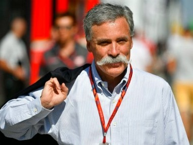Chase Carey, CEO of Formula One Group. AP