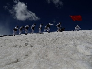 Representational image of PLA sodliers at the Indo-China border. Reuters