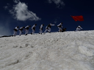 Representational image of Chinese army. Reuters