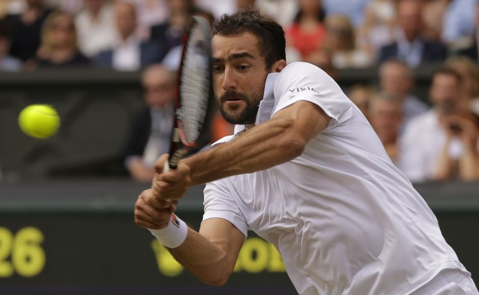 Federer, appearing in his 11th Wimbledon final, was challenged early on by Cilic. AP