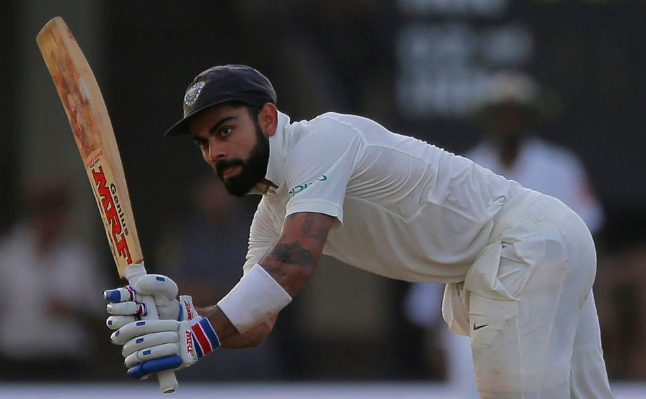 India's captain Virat Kohli notched up his first half-century in eight innings. AP