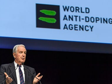 World Anti-Doping Agency (WADA) President Craig Reedie. AFP
