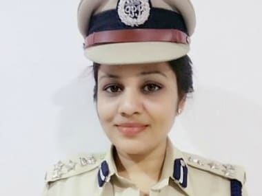 File image of D Roopa. Twitter@D_Roopa_IPS