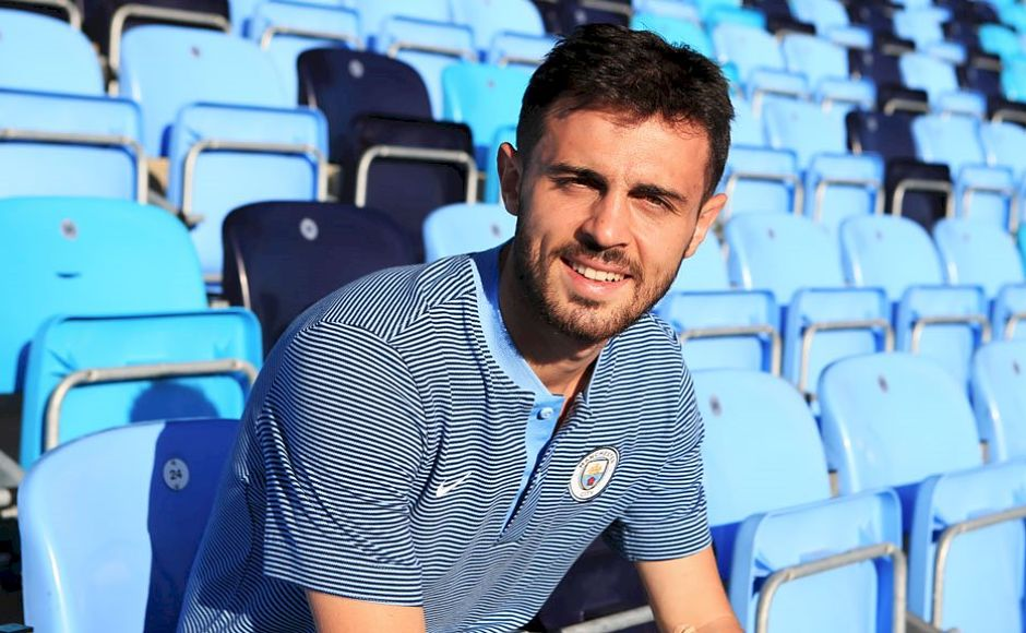Manchester City snapped up Portugal's Bernardo Silva before the transfer window opened from AS Monaco for £43.6 million. Image courtesy: Twitter/@ManCityES