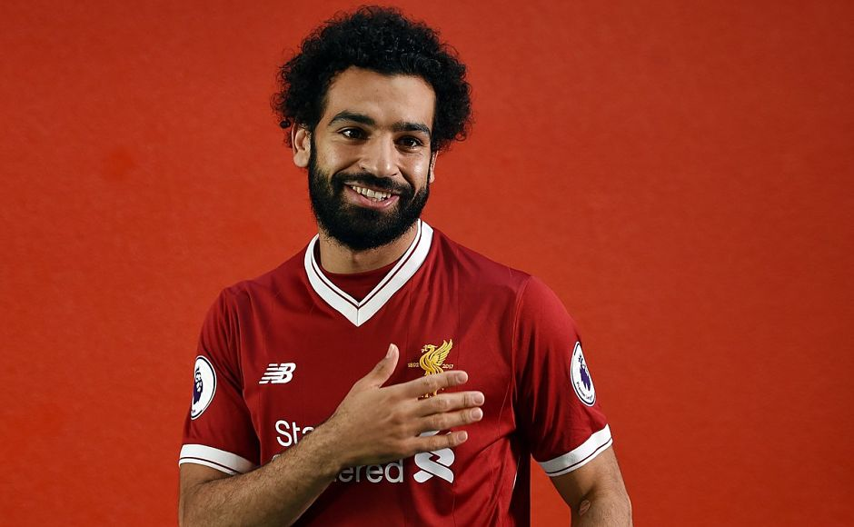Mohammed Salah became Liverpool's most expensive signing in their history when the Merseysiders paid AS Roma £36.9 million for the services of the Egyptian winger. Image courtesy: Twitter/@LFC