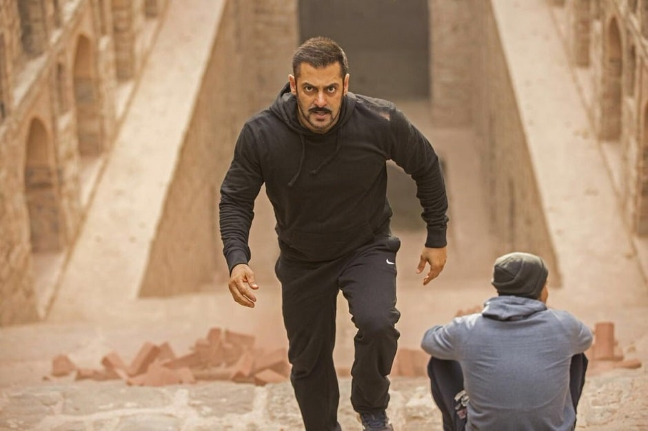 Salman Khan's character in Sultan trains through the film to be a boxer. Image Courtesy: Twitter