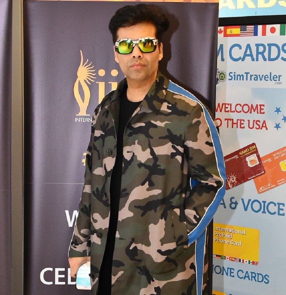 Karan Johar, who is going to host the awards, has also arrived. Image from Twitter/IIFA.