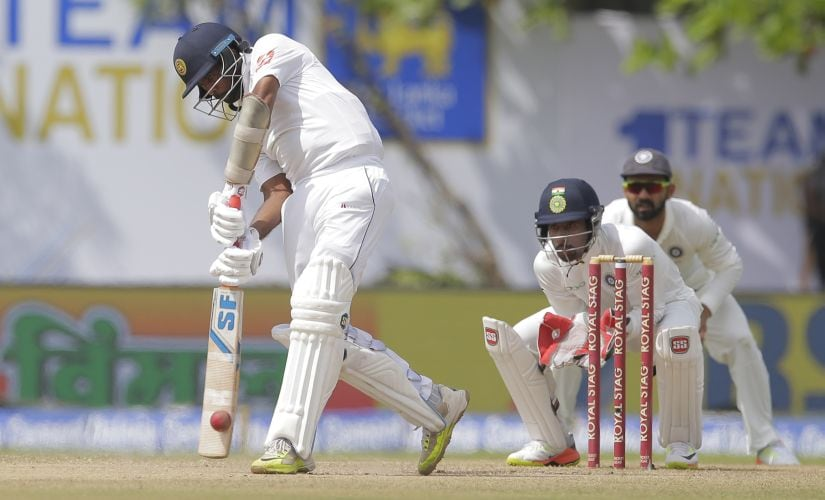 Live India vs Sri Lanka 2017, 1st Test, Day 3, Cricket Score, Updates: Hosts lose seventh wicket as visitors seize control