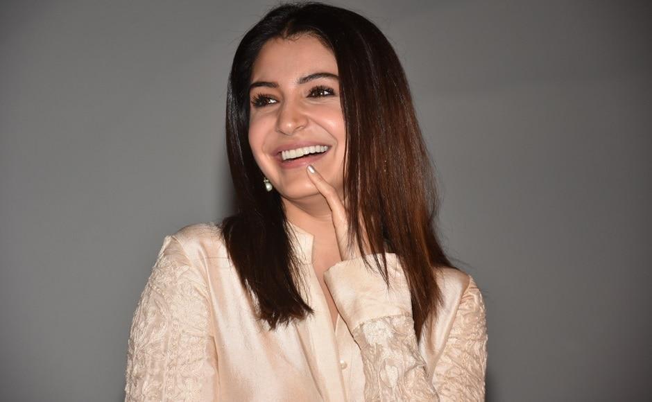 Anushka Sharma at the trailer launch of Jab Harry Met Sejal