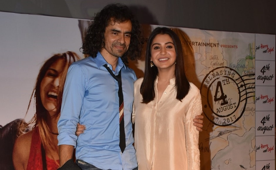The actor-director duo pose for a picture at the event