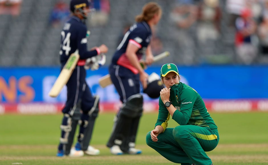 The efforts, though, ended in vain thanks to Anya Shrubsole's calm finish. Reuters