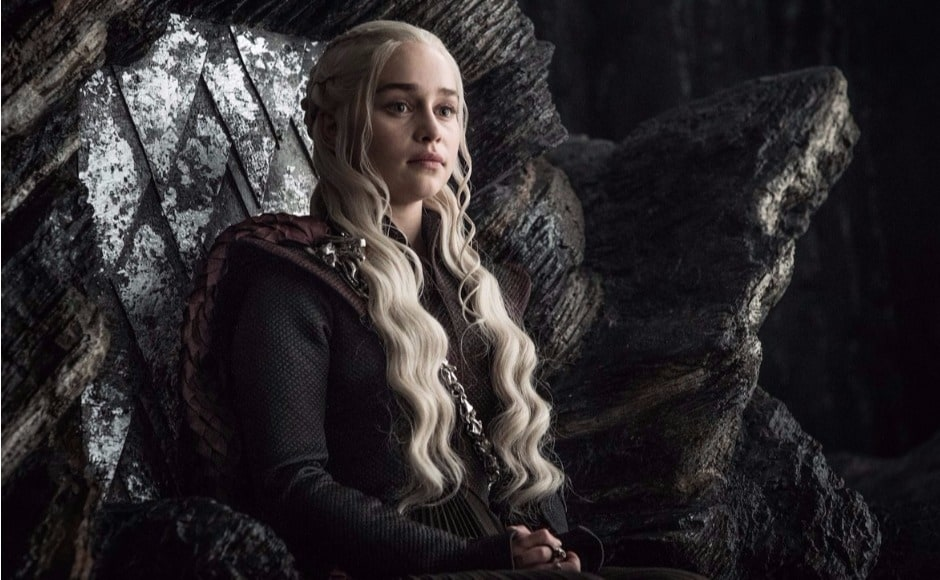 What will Dany have to say about Jon's proposal to team up and fight White Walkers? She can't be in too happy a frame of mind after Euron Greyjoy's abduction of Ellaria Sand and Yara Greyjoy — and the destruction of a sizeable portion of her fleet. Image via HBO