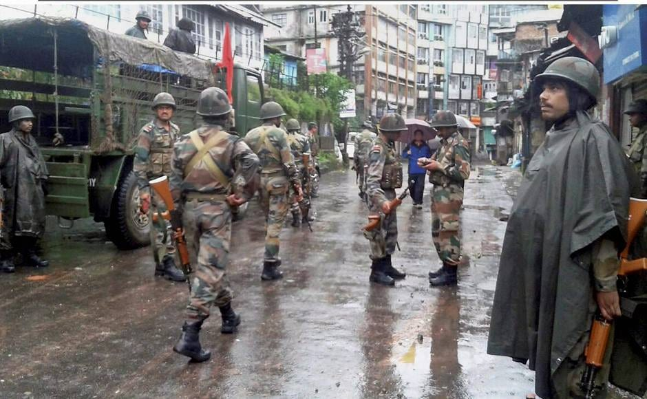 The army continues to be deployed in Darjeeling, Kalimpong and Sonada. Vigil has been increased outside all police stations, camps and outposts to prevent attacks by pro-Gorkhaland supporters. PTI