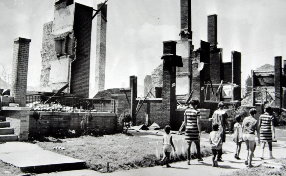 The riots accelerated a decline of the industrial city. Detroit was USA's fourth biggest city in 1960, but would rank 21st by 2016. AP