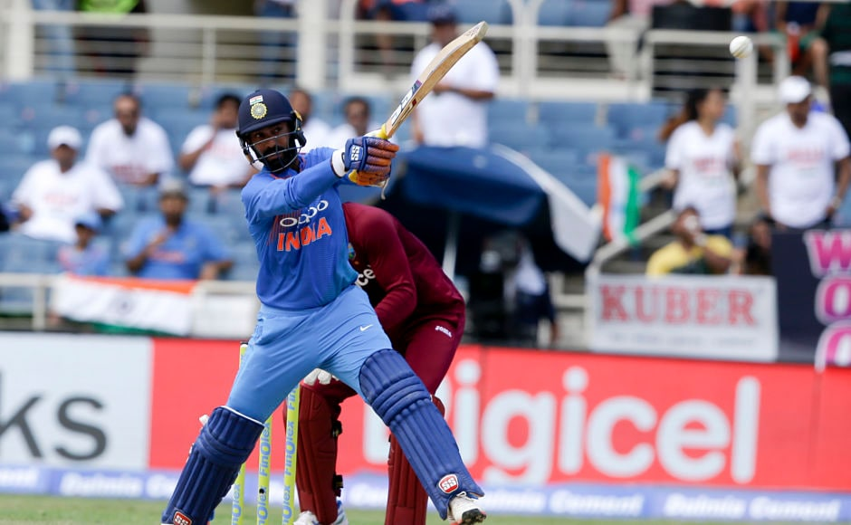 Dinesh Karthik, though, strolled out positively and showed intent as he scored 48 runs off 29 balls. AP